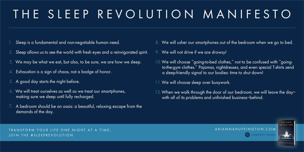 sleep-revolution manifesto